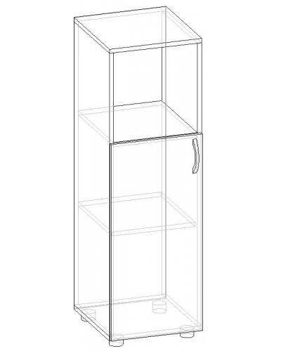 Шкаф для бумаг полузакрытый