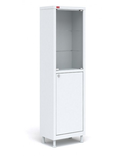 Шкаф медицинский М1 165.50.32 С