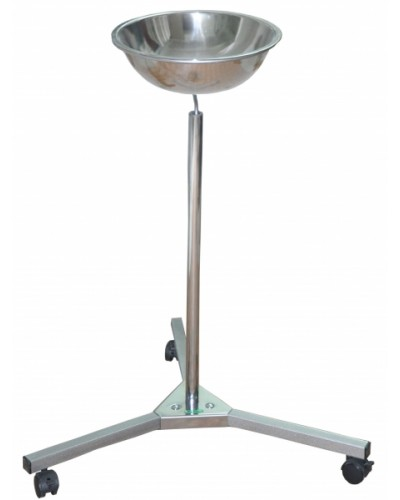 Подставка из нержавеющей стали для одного таза Э-131-П