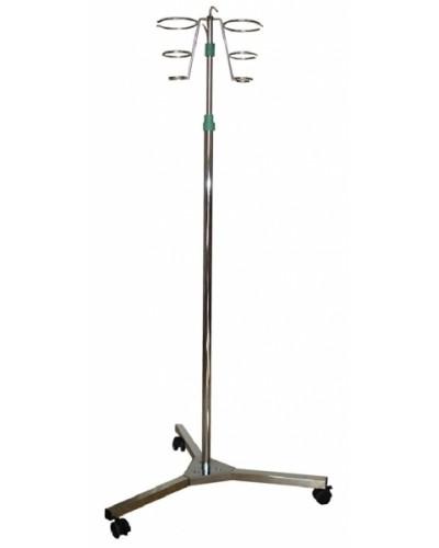 Инфузионная напольная стойка из нержавеющей стали Э-131-СИ
